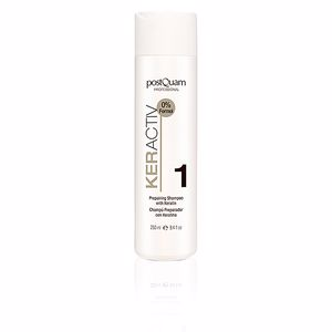 Hair loss shampoo KERACTIV preparing shampoo with keratin Postquam