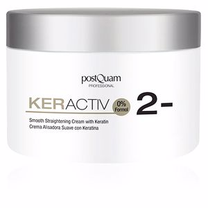 Hair straightening treatment KERACTIV smooth straightening cream with keratin Postquam
