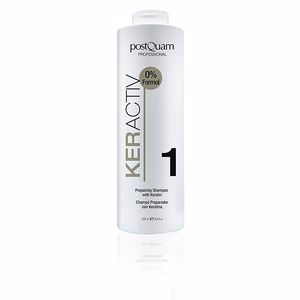 Champú brillo KERACTIV preparing shampoo with keratin Postquam