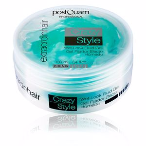 Producto de peinado HAIR CARE EXTRAORDINHAIR crazy style wet look fluid gel Postquam