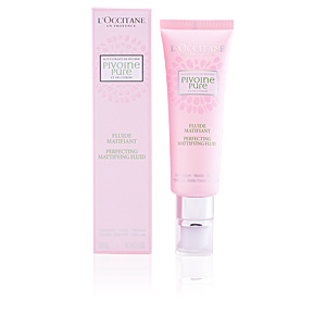 Matifying Treatment Cream PIVOINE PURE fluide matifiant L'Occitane