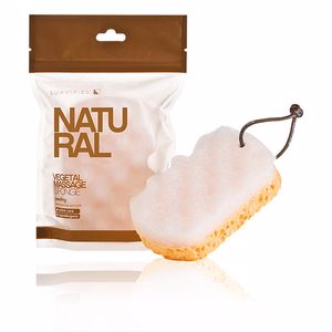 Toilettenartikel NATURAL VEGETAL MASSAGE SPONGE Suavipiel