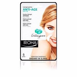 Tratamento papos e olheiras EYES & LIPS hydrogel patches collagen anti-age Iroha