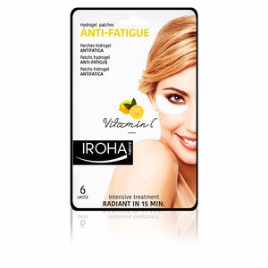 Tratamento papos e olheiras EYES & LIPS hydrogel patches anti-fatigue vitamin C Iroha
