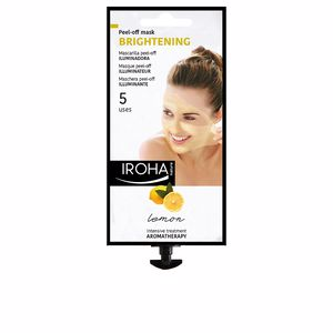 Mascara facial PEEL-OFF MASK brightening lemon Iroha