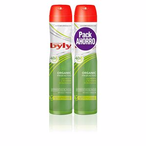 ORGANIC EXTRA FRESH deodorant spray set