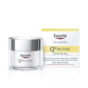 Cremas Antiarrugas y Antiedad Q10 ACTIVE crema de día antiarrugas piel seca Eucerin