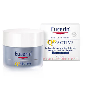 Cremas Antiarrugas y Antiedad Q10 ACTIVE crema de noche antiarrugas Eucerin