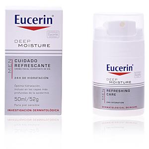 Trattamento viso idratante MEN crema hidratante refrescante Eucerin