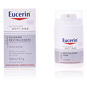 Anti aging cream & anti wrinkle treatment MEN crema facial anti-edad de día Eucerin