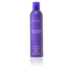 Hair styling product CAVIAR extra hold hair spray Alterna