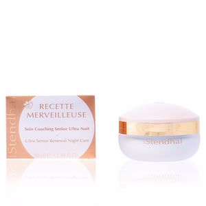 Anti aging cream & anti wrinkle treatment RECETTE MERVEILLEUSE soin coaching senior ultra nuit Stendhal