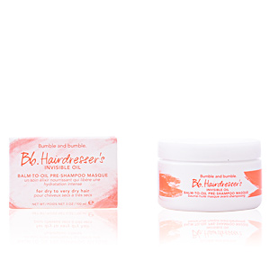 Mascarilla reparadora HAIRDRESSER'S invisible oil balm-to-oil pre-shampoo masque Bumble & Bumble
