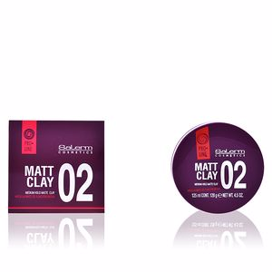 Hair styling product MATT CLAY medium hold matte clay Salerm