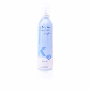 Traitement réparation cheveux KERATIN SHOT serum anti-frizz Salerm