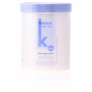 Masque à la kératine KERATIN SHOT mask deep impact plus Salerm