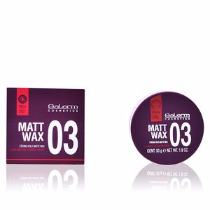 Producto de peinado MATT WAX  strong hold matte wax Salerm