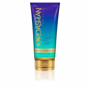 Body SUN KISSED gradual sunless lotion Kim Kardashian