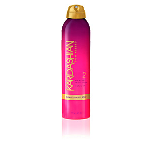 Body SUN KISSED instant sunless spray Kim Kardashian