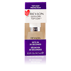 Nail polish QUICK DRY top coat 30 seconds Revlon Make Up