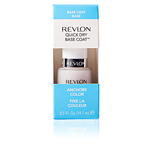 Esmalte de unhas QUICK DRY base coat anchors color Revlon Make Up