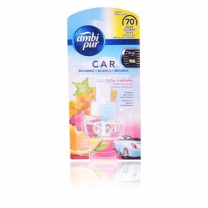 Air freshener CAR ambientador recambio #fruta tropical Ambi Pur