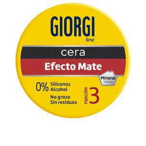 Hair styling product FIJACIÓN Y TEXTURA cera efecto mate nº3 Giorgi