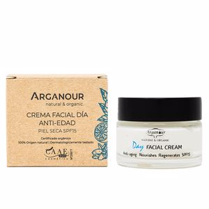 Anti aging cream & anti wrinkle treatment ARGAN crema de dia SPF15 Arganour