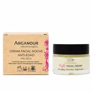 Anti aging cream & anti wrinkle treatment ARGAN crema de noche anti-edad Arganour