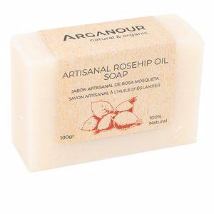 Jabón perfumado ARTISANAL rosehip soap Arganour