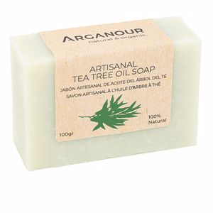 Jabón perfumado ARTISANAL tea tree oil soap Arganour