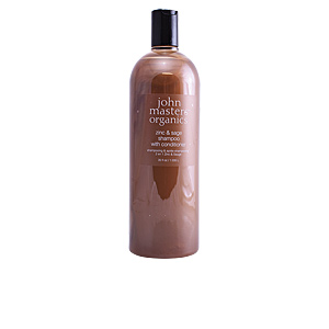 Purifying shampoo ZINC & SAGE shampoo with conditioner John Masters Organics