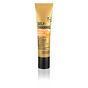 Faciales SELF-TANNING instant & fast bronzing face drops Comodynes