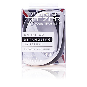 Cepillo para el pelo COMPACT STYLER silver chrome Tangle Teezer