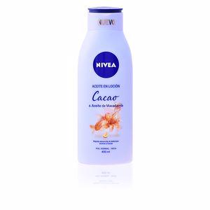 Body moisturiser ACEITE EN LOCIÓN cacao & macadamia Nivea