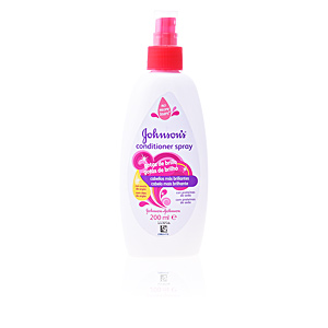 Après-shampooing réparateur BABY acondicionador gotas de brillo spray Johnson's