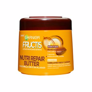 Hair mask for damaged hair FRUCTIS NUTRI REPAIR BUTTER mascarilla Garnier
