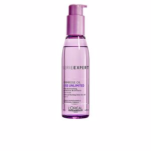 Traitement hydratant cheveux - Traitement brillance - Traitement anti-frisottis LISS UNLIMITED shine perfection blow dry oil L'Oréal Professionnel