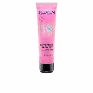 Hair - scalp exfoliation DIAMOND OIL glow dry gloss scrub Redken