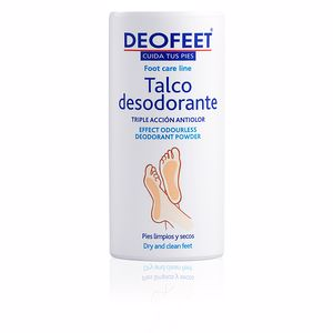 Foot cream & treatments TALCO desodorante para pies Deofeet