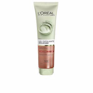 Face scrub - exfoliator ARCILLAS PURAS gel exfoliante poros alga roja L'Oréal París