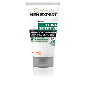 MEN EXPERT hydra sensitive gel limpiador calmante 150 ml