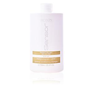 Moisturizing shampoo SENSOR NUTRITIVE conditioning-shampoo Revlon