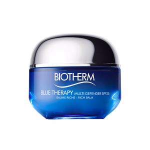 Tratamiento Facial Reafirmante BLUE THERAPY multi defender SPF25 rich balm Biotherm