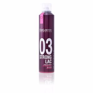 Hair styling product STRONG LAC 03 strong hold hairspray Salerm