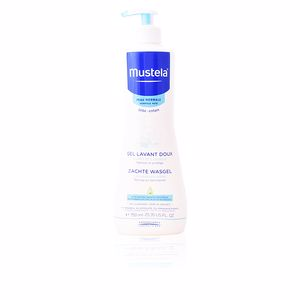 Moisturizing shampoo - Shower gel - Hygiene for kids BÉBÉ gentle cleansing gel hair and body Mustela