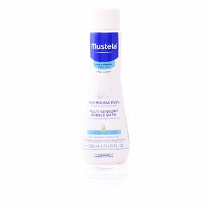 Shower gel BÉBÉ multi sensory bubble bath Mustela