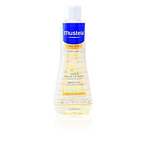 Gel de baño BÉBÉ bath oil dry skin Mustela