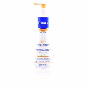 Gel bain BÉBÉ nourishing cleansing gel with cold cream Mustela