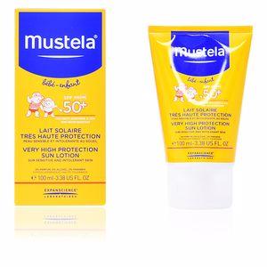 Faciales BÉBÉ sun lotion SPF50+ Mustela